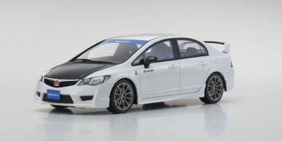 OttO mobile 1/18scale Honda Civic Type R (FD2) SPOON (White) Hong Kong Exclusive Model  [No.OTM007RT]