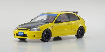 OttO mobile 1/18scale Honda Civic Type R (EK9) SPOON (Yellow) Hong Kong Exclusive Model  [No.OTM008RT]