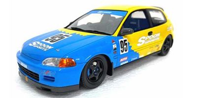 OttO mobile 1/18scale Honda Civic (EG6) Spoon (Blue / Yellow) HK  [No.OTM011RT]
