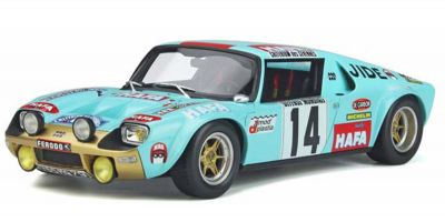 OttO mobile 1/18scale Jidé 1600 S Competition Gr.4 # 14 (Blue) Limited to 2,000 worldwide  [No.OTM287]