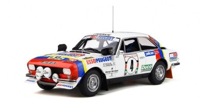 OttO mobile 1/18scale Peugeot 504 Gr.4 Coupe V6 Safari Rally 1978 (White / Blue / Red)  [No.OTM309]