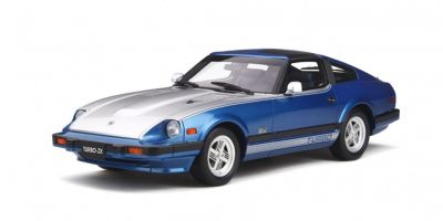 OttO mobile 1/18scale Datsun 280 ZX Turbo (Blue / Silver)  [No.OTM316]
