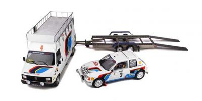 OttO mobile 1/18scale Peugeot 205 T16 1985 Monte-Carlo Rally set   [No.OTM328]