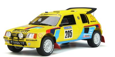OttO mobile 1/18scale Peugeot 205 Grand Raid Dakar # 205 (Yellow) World Limited 3,000  [No.OTM354]