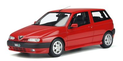 OttO mobile 1/18scale Alfa Romeo 145 Quadrifolio (Red) Limited to 1,500 pieces worldwide  [No.OTM361]