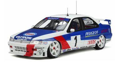 OttO mobile 1/18scale Peugeot 405 MI16 Super Turismo # 1 1995 (White / Blue) Limited to 3,000 Worldwide  [No.OTM364]
