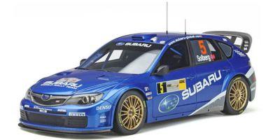 OttO mobile 1/18scale SUBARU Impreza WRC 2008 # 3 (Blue) Limited to 3,000 worldwide  [No.OTM365]