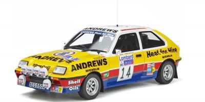 OttO mobile 1/18scale Vauxhall Chevette Gr.B 2300 HSR # 14 1983 (Yellow) Limited to 2,500 pieces worldwide  [No.OTM370]