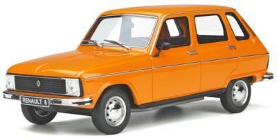 OttO mobile 1/18 ルノー 6 TL (オレンジ) 世界限定 1,500台 OTM371
