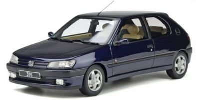 OttO mobile 1/18 プジョー 306 エデン パーク (ダークブルー) 世界限定 2,500台 OTM385