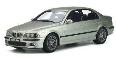 OttO mobile 1/18scale BMW E39 M5 (Silver) Limited to 2,000 worldwide  [No.OTM747B]