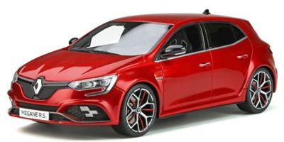 OttO mobile 1/18scale Renault Megane R.S. Trophy (Red)  [No.OTM751]