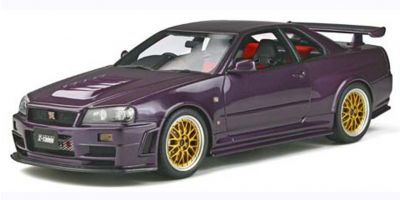 OttO mobile 1/18scale NISMO GT-R Z-tune (Purple) World Limited 2,000  [No.OTM811]