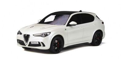 OttO mobile 1/18scale Alfa Romeo Stelvio Quadrifoglio (White)  [No.OTM830]