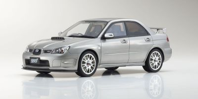 OttO mobile 1/18scale STI S204 (Silver) OttO Mobile Kyosho Exclusive  [No.OTM833]