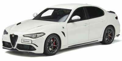 OttO mobile 1/18scale Alfa Romeo Giulia Quadrifolio (White) Limited to 2,500  worldwide  [No.OTM839]