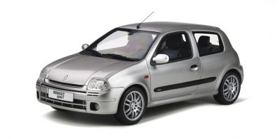 OttO mobile 1/18scale Renault Clio 2 RS Ph.1 (Silver)  [No.OTM841]