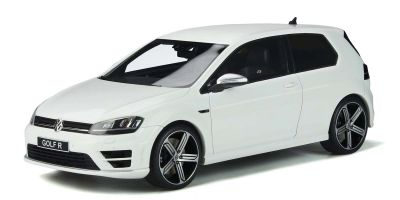 OttO mobile 1/18scale Volkswagen Golf R Mk.VII (White) World Limited 2,000  [No.OTM883]