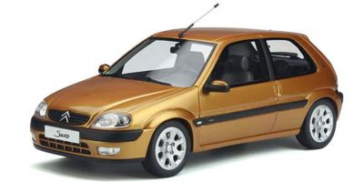 OttO mobile 1/18scale Citroen Saxo VTS (Gold) Limited to 2,000 worldwide  [No.OTM893]