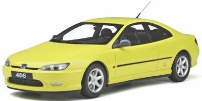 OttO mobile 1/18scale Peugeot 406 V6 Coupe (Yellow) Limited to 2,000 pieces worldwide  [No.OTM897]