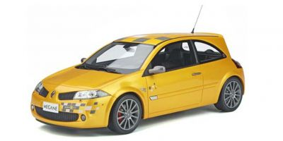 OttO mobile 1/18scale Renault Mégane II RS Renault F1 Team Edition (Yellow) Peugeot 406 V6 Coupe (Yellow) Limited to 4,000 pieces worldwide  [No.OTM914]