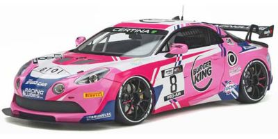 OttO mobile 1/18scale Alpine A110 GT4 # 8 2020 (Pink) Limited to 2,500 pieces Worldwide  [No.OTM935]