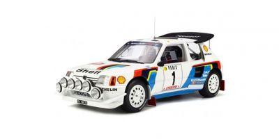 OttO mobile 1/12scale Peugeot 205 T16 Evo 2 Rally Monte Carlo 1986 (White / Blue)  [No.OTMG027]