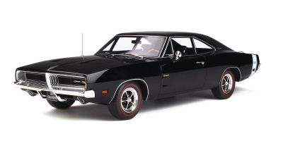 OttO mobile 1/12scale Dodge Charger R/T 1969 (Black)  [No.OTMG032]