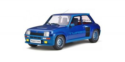 OttO mobile 1/12scale Renault 5 Turbo Mk.1 (Blue)  [No.OTMG043]