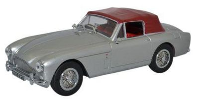 OXFORD 1/43scale Aston Martin Db2 Mkiii Dhc Snow Shadow Silver  [No.OX43AMDB204]