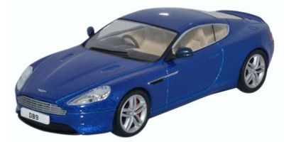 OXFORD 1/43scale Aston Martin DB9 Coupe Cobalt Blue  [No.OX43AMDB903]