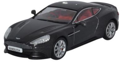 OXFORD 1/43scale Aston Martin Vanquish Coupe Quantum Silver  [No.OX43AMV003]
