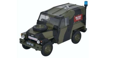 OXFORD 1/43scale Land Rover 1/2t Light Weight Military Police  [No.OX43LRL002]