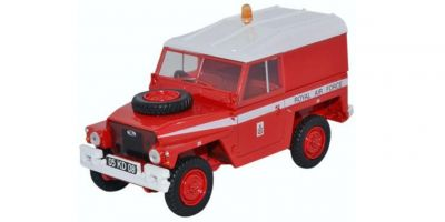 OXFORD 1/43scale Land Rover 1/2t Light Weight RAF Red Arrow  [No.OX43LRL003]