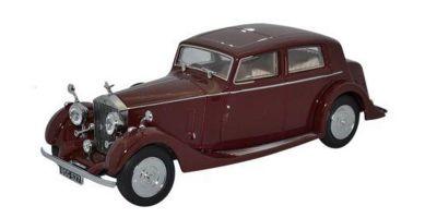 OXFORD 1/43scale Rolls Royce 25/30 Thrupp & Maberly Burgundy  [No.OX43R25001]