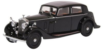 OXFORD 1/43scale Rolls Royce 25 30 - Thrupp & Maberley Black  [No.OX43R25003]