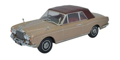OXFORD 1/43scale Rolls Royce Corniche Convertble Closed Persian Sand  [No.OX43RRC002]