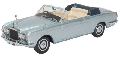 OXFORD 1/43scale Rolls Royce Corniche Convertible MPW Open Silver  [No.OX43RRC003]