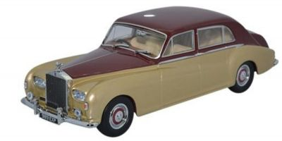 OXFORD 1/43scale Rolls Royce Phantom V James Young Burgundy/Silver Sand  [No.OX43RRP5002]