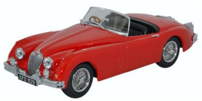 OXFORD 1/43scale Jaguar XK150 Roadster Carmen Red [No.OX43XK15008]