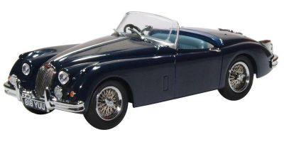 OXFORD 1/43scale Jaguar XK150 Roadster Indigo Blue  [No.OX43XK15009]