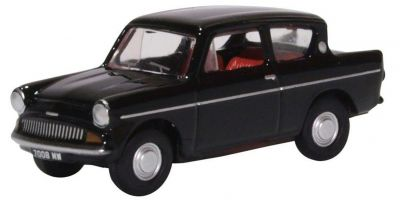 OXFORD 1/76scale Ford Anglia 1962 105E Black  [No.OX76105009]