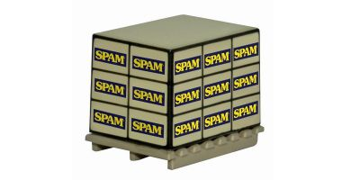 OXFORD 1/76scale Pallet Load  Spam  [No.OX76ACC010]