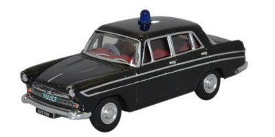 OXFORD 1/76scale Austin Cambridge Farina Hertfordshire Police Car Black [No.OX76ACF005]
