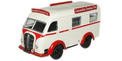 OXFORD 1/76scale Austin K8 Threeway Van Lancashire Evening Post  [No.OX76AK001]