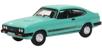 OXFORD 1/76scale Ford Capri MkIII Peppermint Sea Green  [No.OX76CAP009]