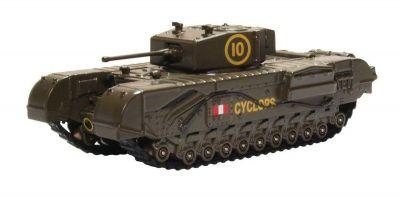 OXFORD 1/76scale Churchill Tank 51st Rtr Uk 1942  [No.OX76CHT005]