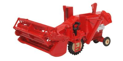 OXFORD 1/76scale Combine Harvester Red  [No.OX76CHV001]