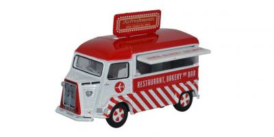 OXFORD 1/76scale Citroen H Catering Van Jamie Oliver At Gatwick  [No.OX76CIT002]