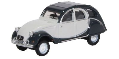 OXFORD 1/76scale Citroen 2CV Charleston Cormorant Grey Midnight Grey  [No.OX76CT006]